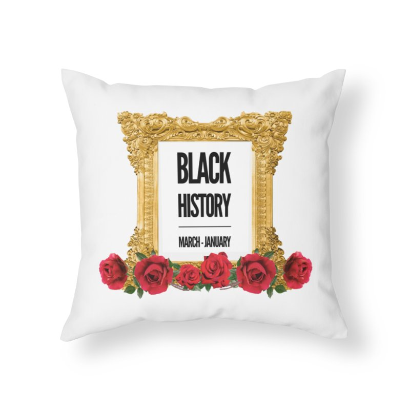 get your roses Home Throw Pillow by summer seventy six