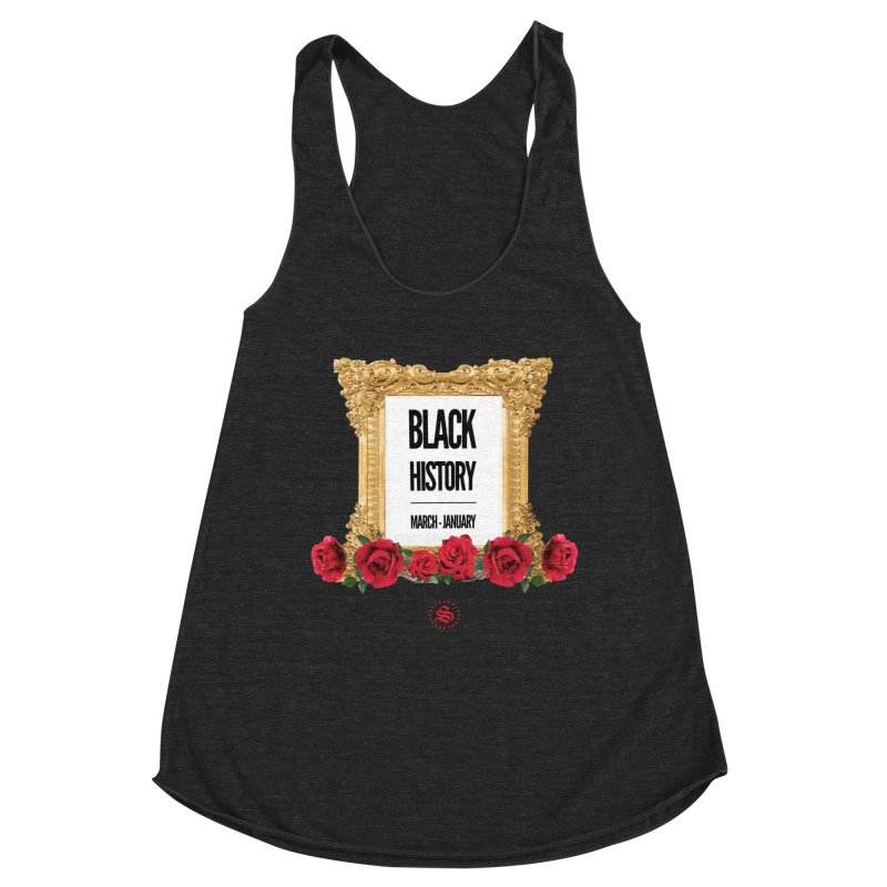 get your roses Women's Racerback Triblend Tank by summer seventy six