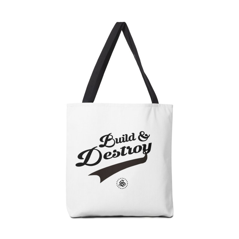build + destroy Accessories Tote Bag Bag by summer seventy six