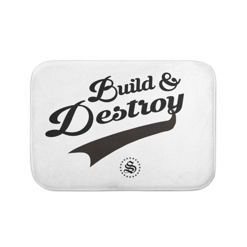 build + destroy Home Bath Mat by summer seventy six