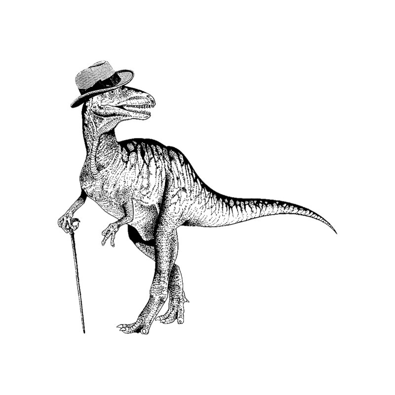 Stylin' T Rex None  by sundaydrivedesigns's Artist Shop
