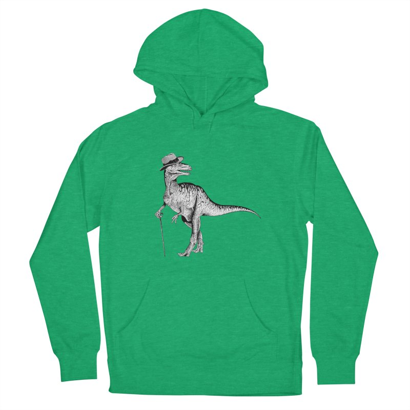 Stylin' T Rex Men's Pullover Hoody by sundaydrivedesigns's Artist Shop