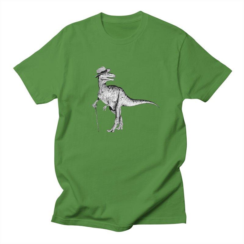 Stylin' T Rex Men's Regular T-Shirt by sundaydrivedesigns's Artist Shop