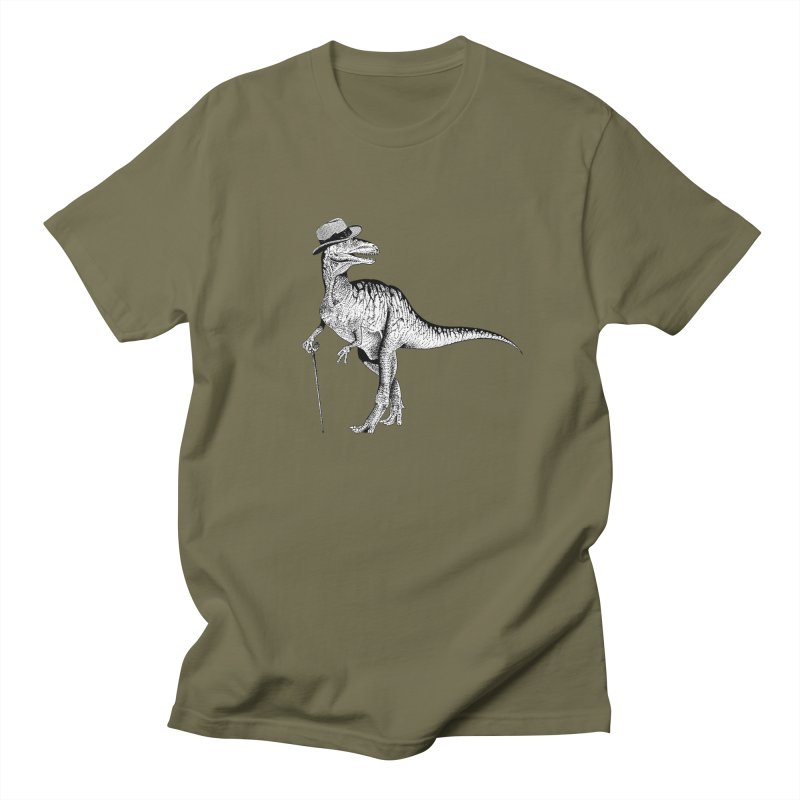 Stylin' T Rex Men's Regular T-Shirt by sundaydrivedesigns's Artist Shop