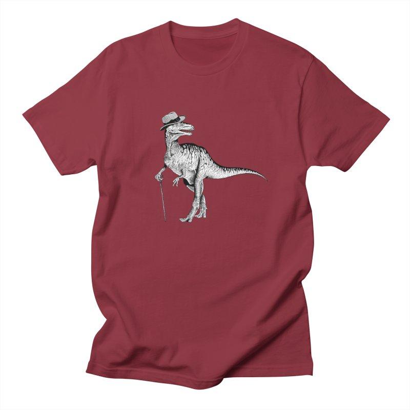 Stylin' T Rex Men's T-shirt by sundaydrivedesigns's Artist Shop