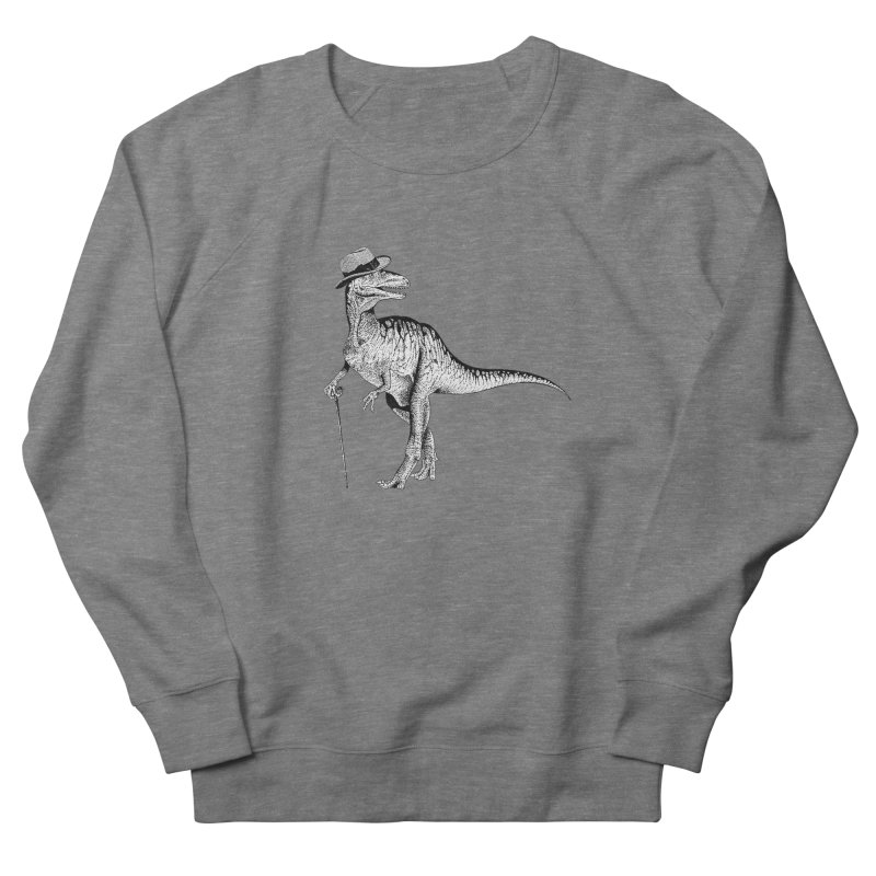 Stylin' T Rex Women's French Terry Sweatshirt by sundaydrivedesigns's Artist Shop