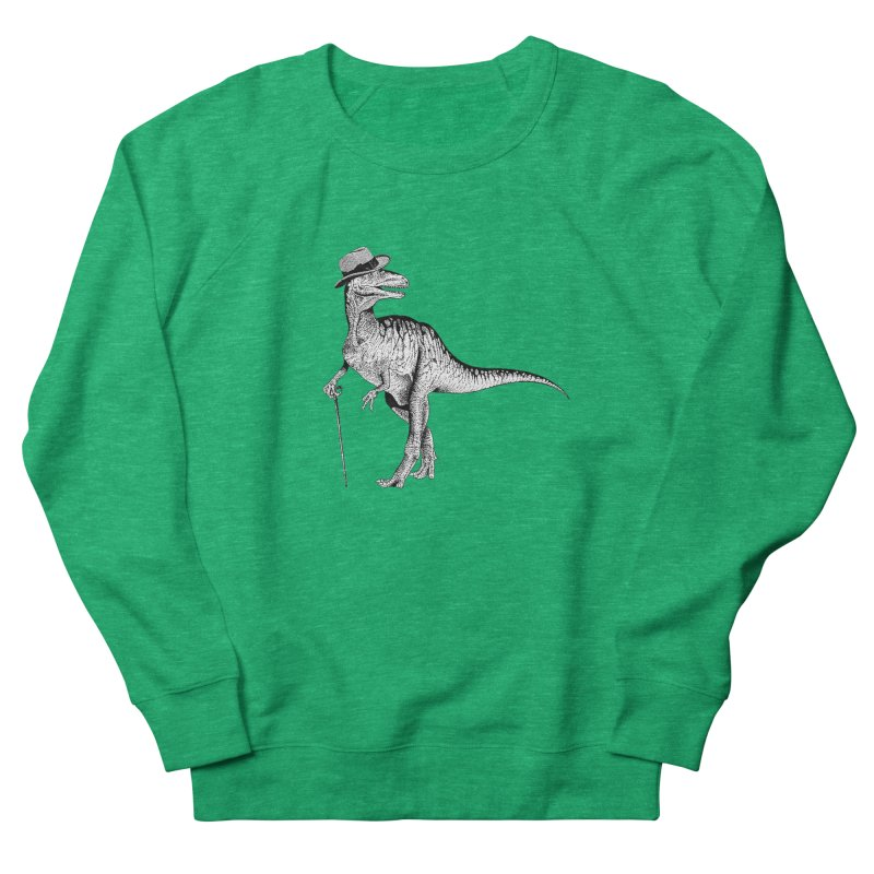 Stylin' T Rex Men's French Terry Sweatshirt by sundaydrivedesigns's Artist Shop