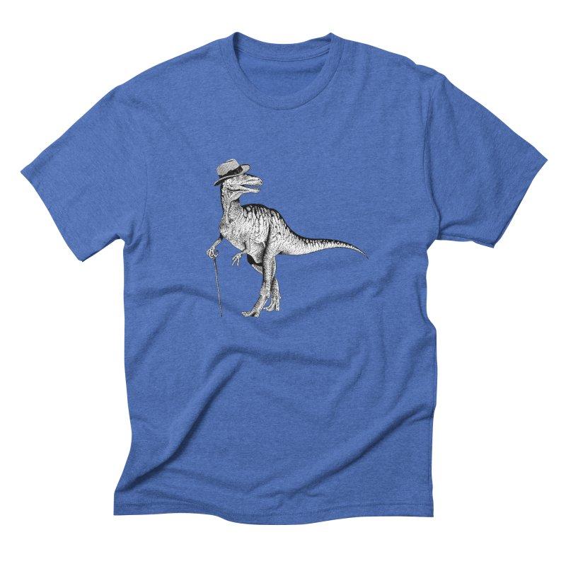Stylin' T Rex Men's Triblend T-Shirt by sundaydrivedesigns's Artist Shop