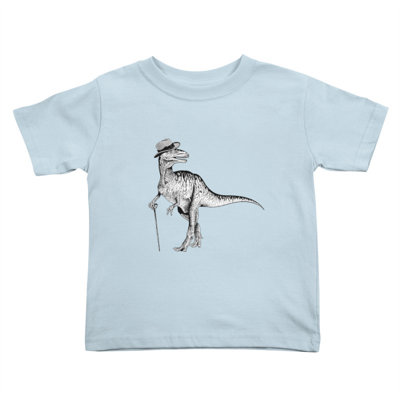 Stylin' T Rex Kids Toddler T-Shirt by sundaydrivedesigns's Artist Shop