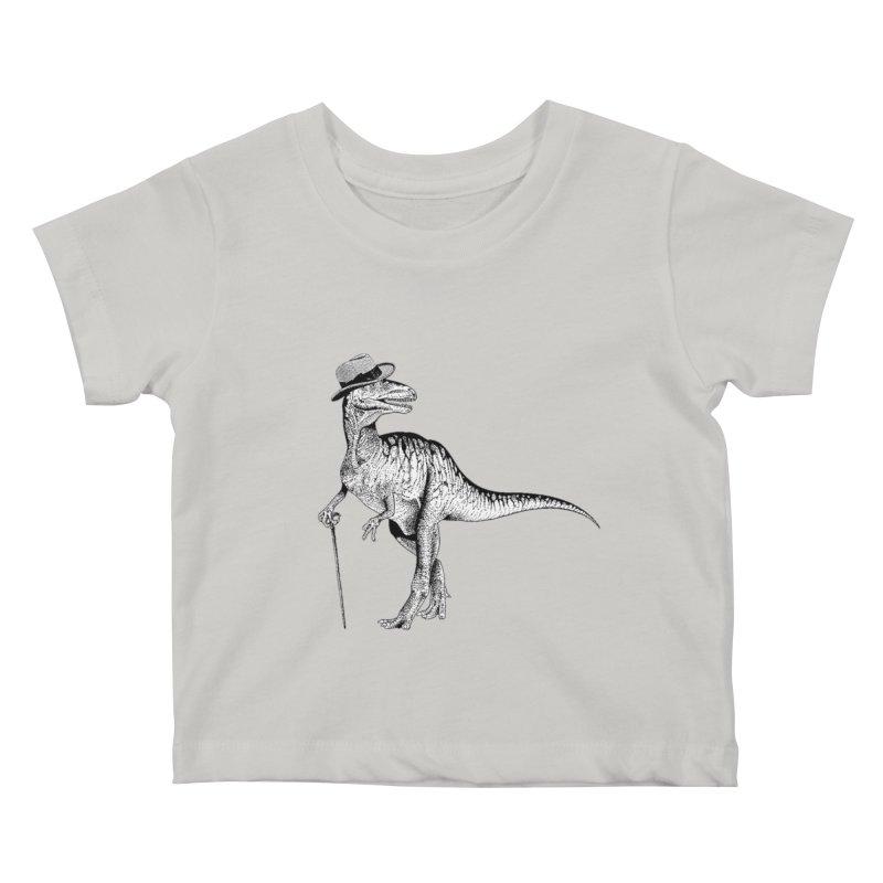 Stylin' T Rex Kids Baby T-Shirt by sundaydrivedesigns's Artist Shop