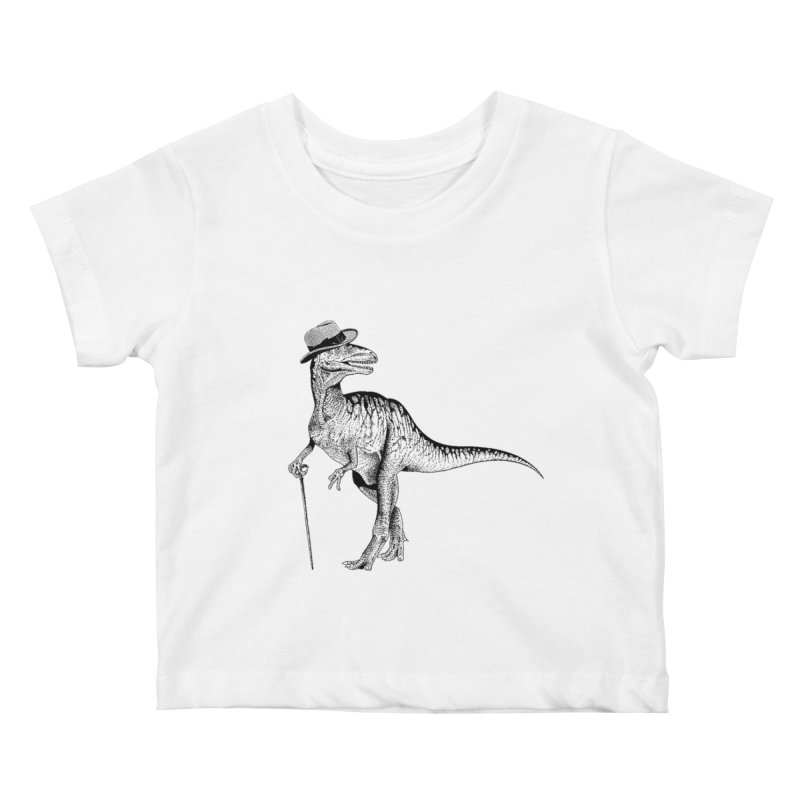 Stylin' T Rex Kids Baby T-Shirt by sundaydrivedesigns's Artist Shop