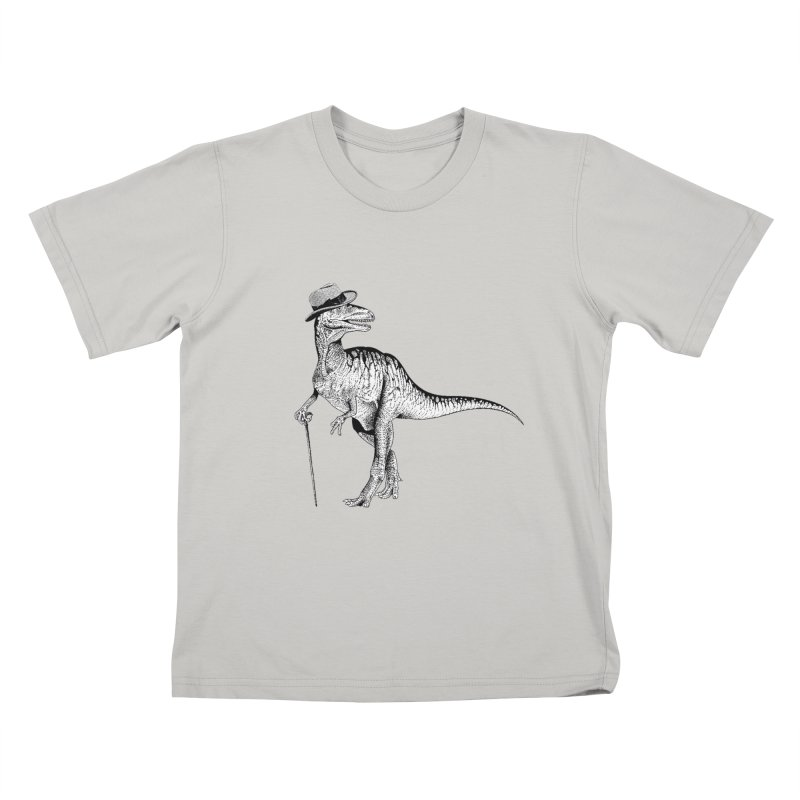 Stylin' T Rex Kids T-Shirt by sundaydrivedesigns's Artist Shop