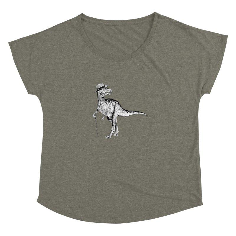 Stylin' T Rex Women's Dolman by sundaydrivedesigns's Artist Shop