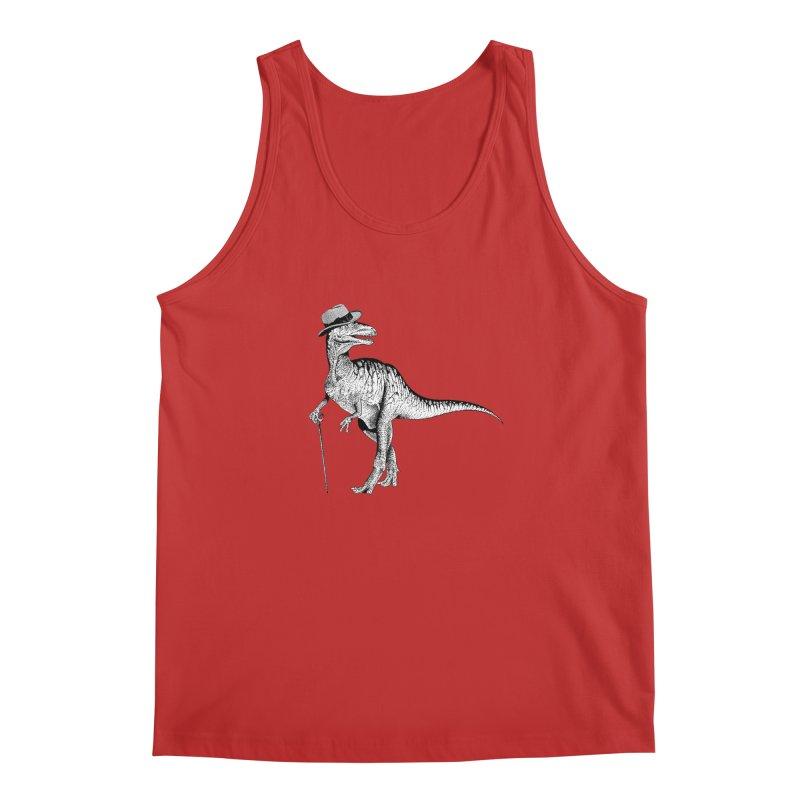Stylin' T Rex Men's Regular Tank by sundaydrivedesigns's Artist Shop