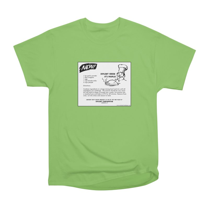 Soylent Green - It's People!  - The Recipe Men's Heavyweight T-Shirt by sundaydrivedesigns's Artist Shop