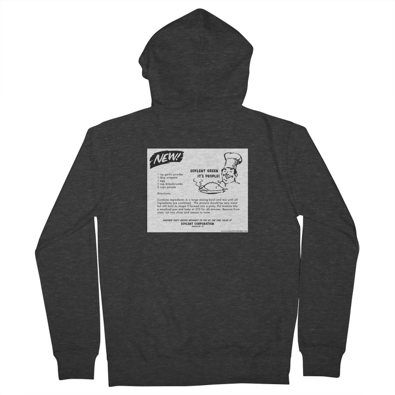 Soylent Green - It's People!  - The Recipe Men's Zip-Up Hoody by sundaydrivedesigns's Artist Shop