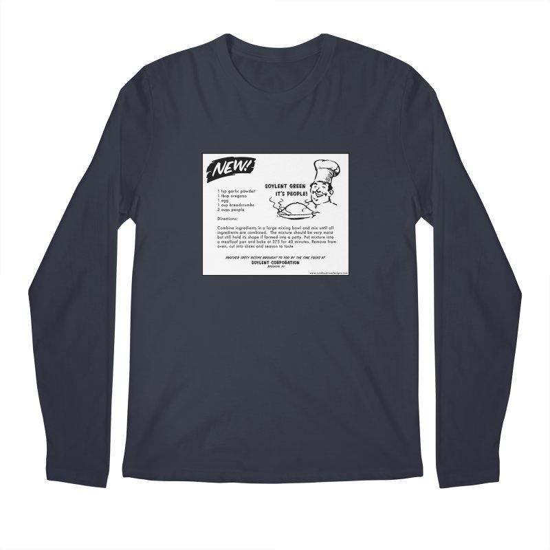 Soylent Green - It's People!  - The Recipe Men's Regular Longsleeve T-Shirt by sundaydrivedesigns's Artist Shop
