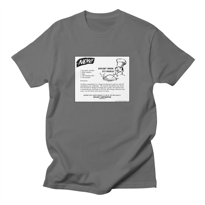 Soylent Green - It's People!  - The Recipe Men's T-Shirt by sundaydrivedesigns's Artist Shop