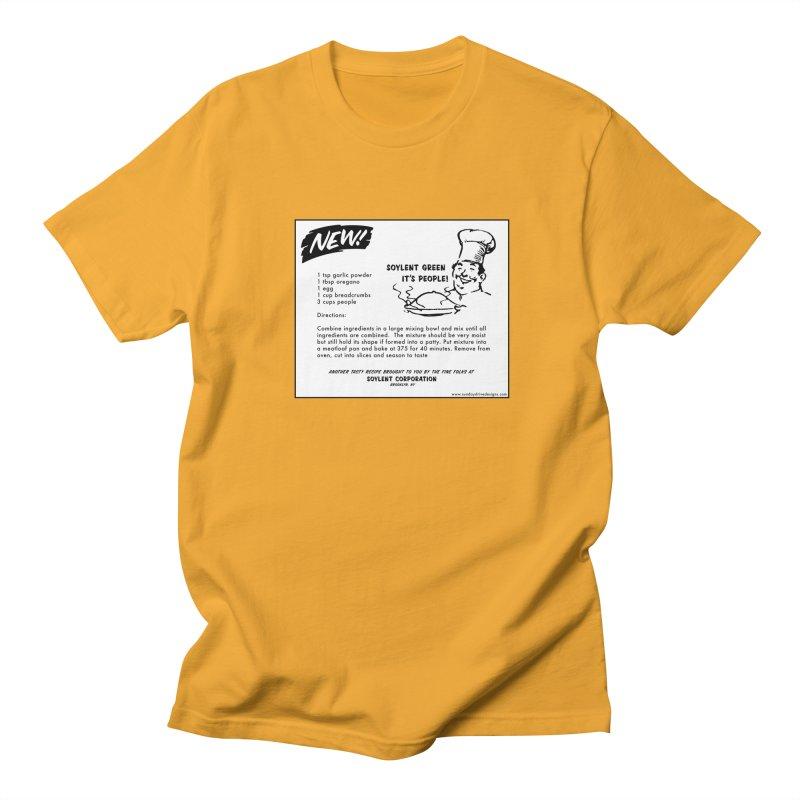 Soylent Green - It's People!  - The Recipe Women's Regular Unisex T-Shirt by sundaydrivedesigns's Artist Shop