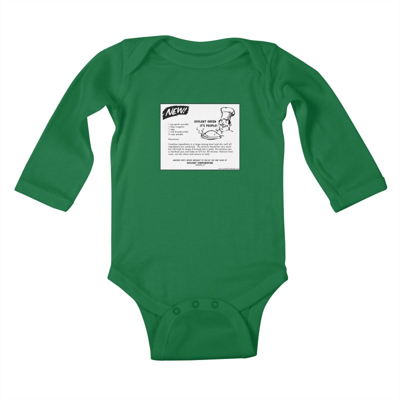 Soylent Green - It's People!  - The Recipe Kids Baby Longsleeve Bodysuit by sundaydrivedesigns's Artist Shop