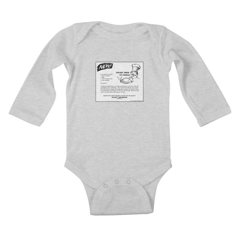 Soylent Green - It's People!  - The Recipe Kids Baby Longsleeve Bodysuit by sundaydrivedesigns's Artist Shop