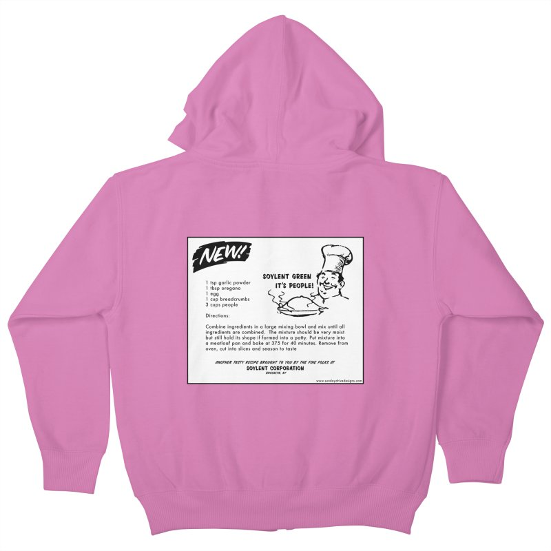 Soylent Green - It's People!  - The Recipe Kids Zip-Up Hoody by sundaydrivedesigns's Artist Shop