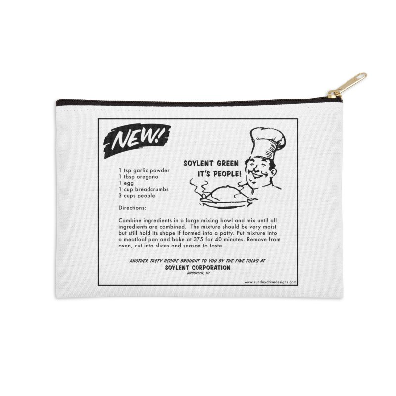 Soylent Green - It's People!  - The Recipe Accessories Zip Pouch by sundaydrivedesigns's Artist Shop