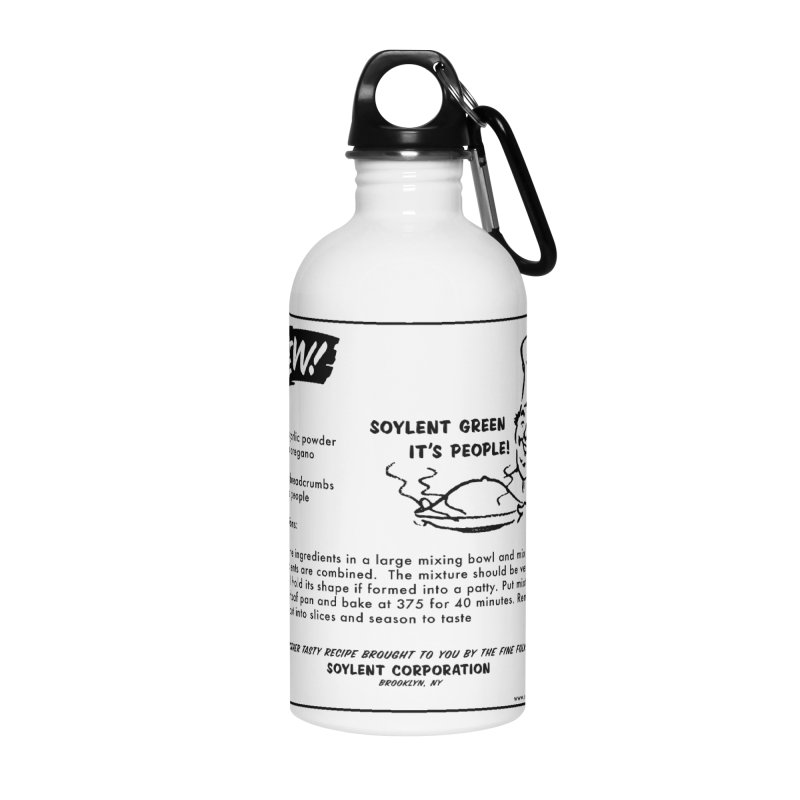 Soylent Green - It's People!  - The Recipe Accessories Water Bottle by sundaydrivedesigns's Artist Shop