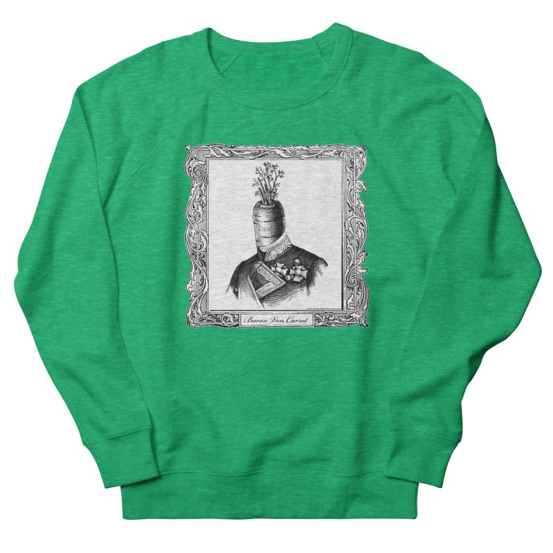 Baron Von Carrot Women's Sweatshirt by sundaydrivedesigns's Artist Shop
