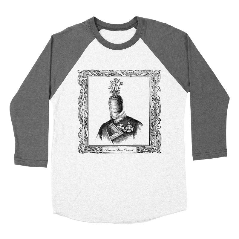 Baron Von Carrot Women's Longsleeve T-Shirt by sundaydrivedesigns's Artist Shop
