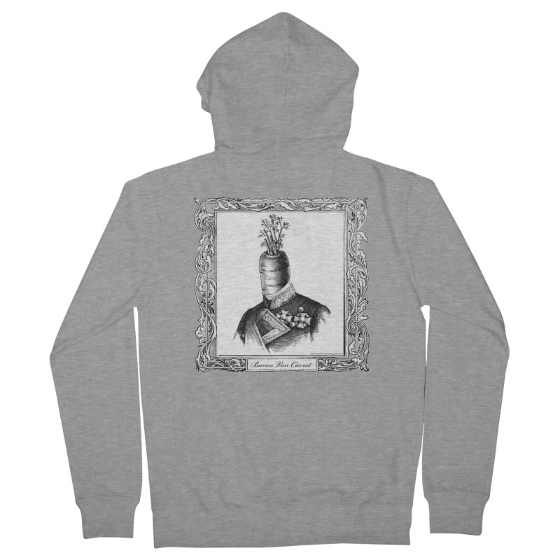 Baron Von Carrot Women's French Terry Zip-Up Hoody by sundaydrivedesigns's Artist Shop