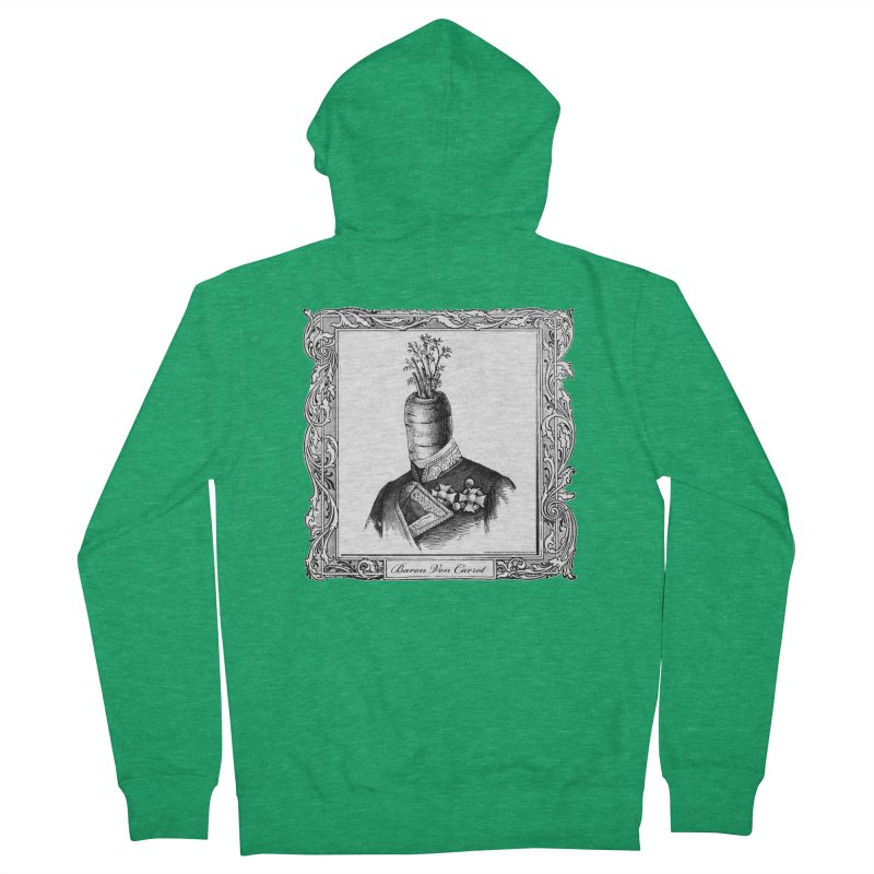 Baron Von Carrot Men's French Terry Zip-Up Hoody by sundaydrivedesigns's Artist Shop