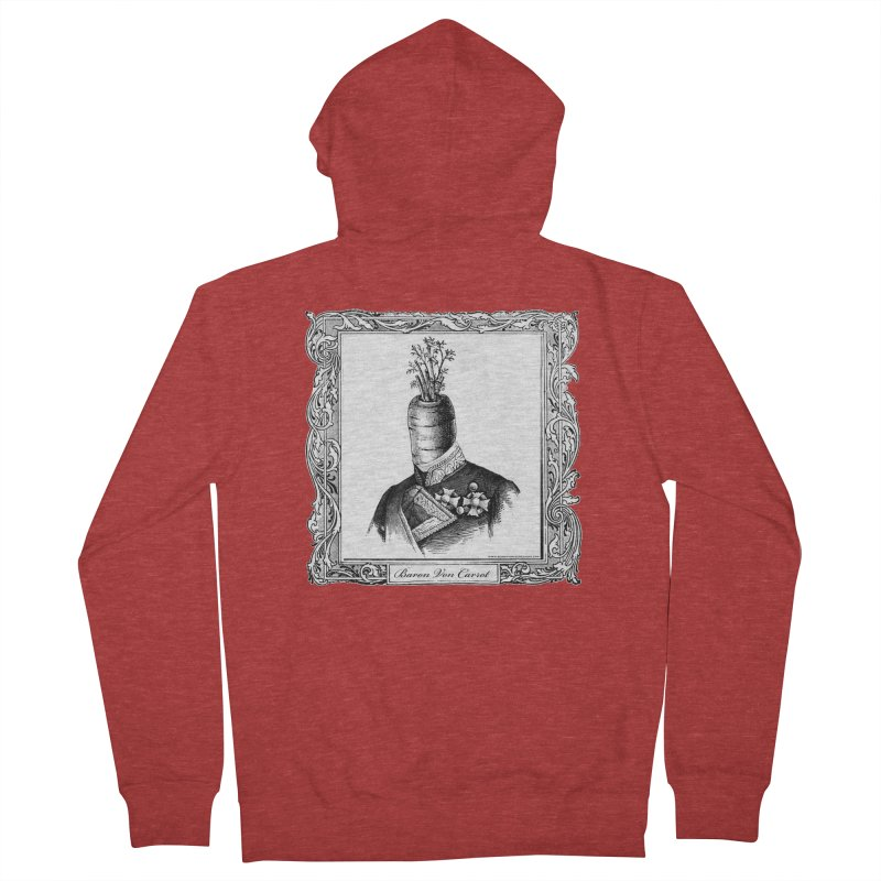Baron Von Carrot Men's Zip-Up Hoody by sundaydrivedesigns's Artist Shop