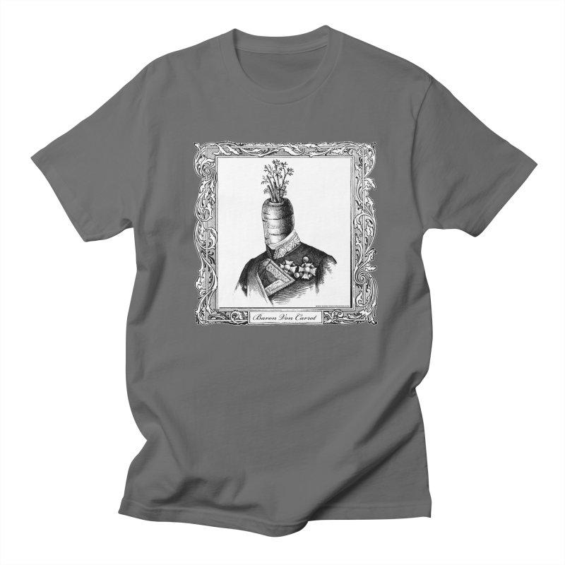Baron Von Carrot Men's Regular T-Shirt by sundaydrivedesigns's Artist Shop