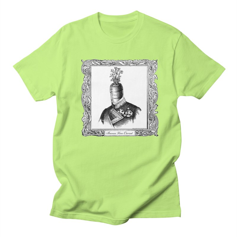Baron Von Carrot Men's T-Shirt by sundaydrivedesigns's Artist Shop