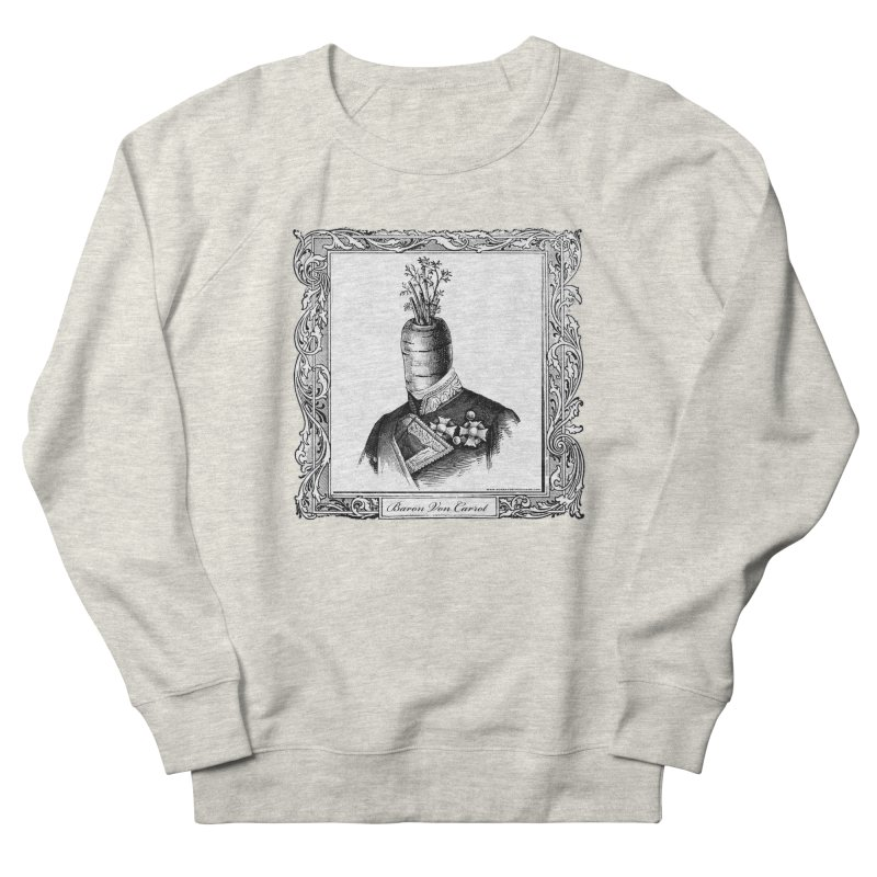 Baron Von Carrot Women's French Terry Sweatshirt by sundaydrivedesigns's Artist Shop