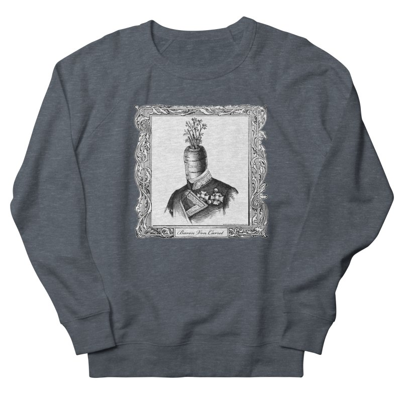 Baron Von Carrot Men's Sweatshirt by sundaydrivedesigns's Artist Shop