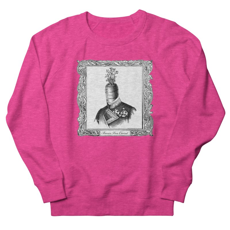 Baron Von Carrot Men's French Terry Sweatshirt by sundaydrivedesigns's Artist Shop