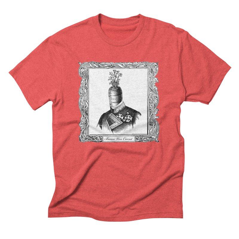 Baron Von Carrot Men's Triblend T-Shirt by sundaydrivedesigns's Artist Shop