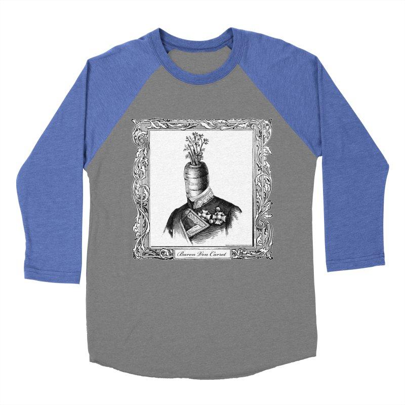 Baron Von Carrot Women's Baseball Triblend T-Shirt by sundaydrivedesigns's Artist Shop