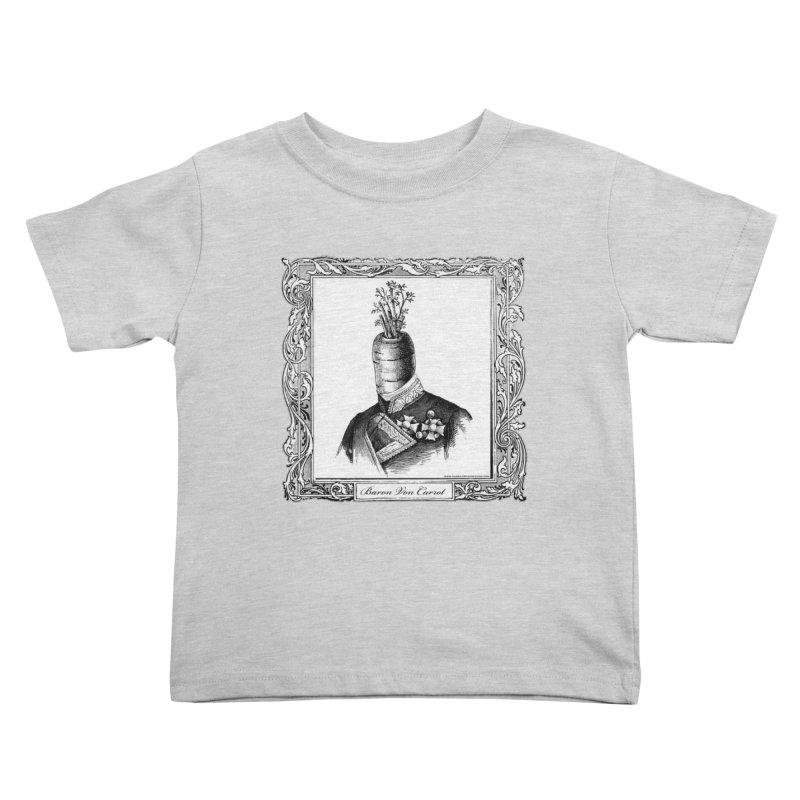 Baron Von Carrot Kids Toddler T-Shirt by sundaydrivedesigns's Artist Shop