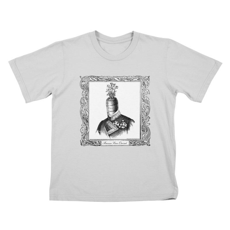 Baron Von Carrot Kids T-Shirt by sundaydrivedesigns's Artist Shop
