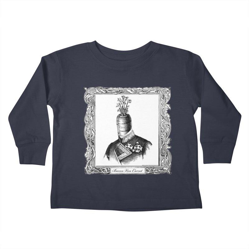 Baron Von Carrot Kids Toddler Longsleeve T-Shirt by sundaydrivedesigns's Artist Shop