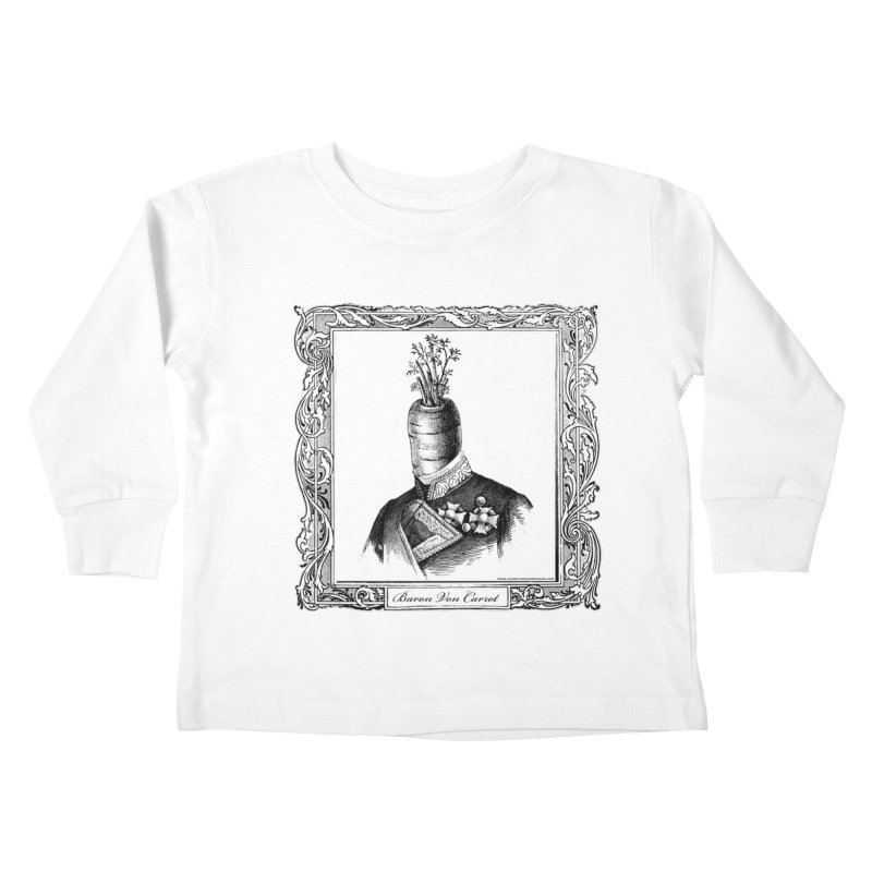 Baron Von Carrot Kids Toddler Longsleeve T-Shirt by sundaydrivedesigns's Artist Shop