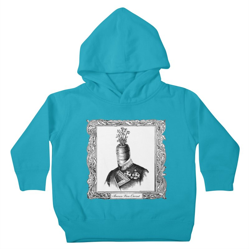 Baron Von Carrot Kids Toddler Pullover Hoody by sundaydrivedesigns's Artist Shop