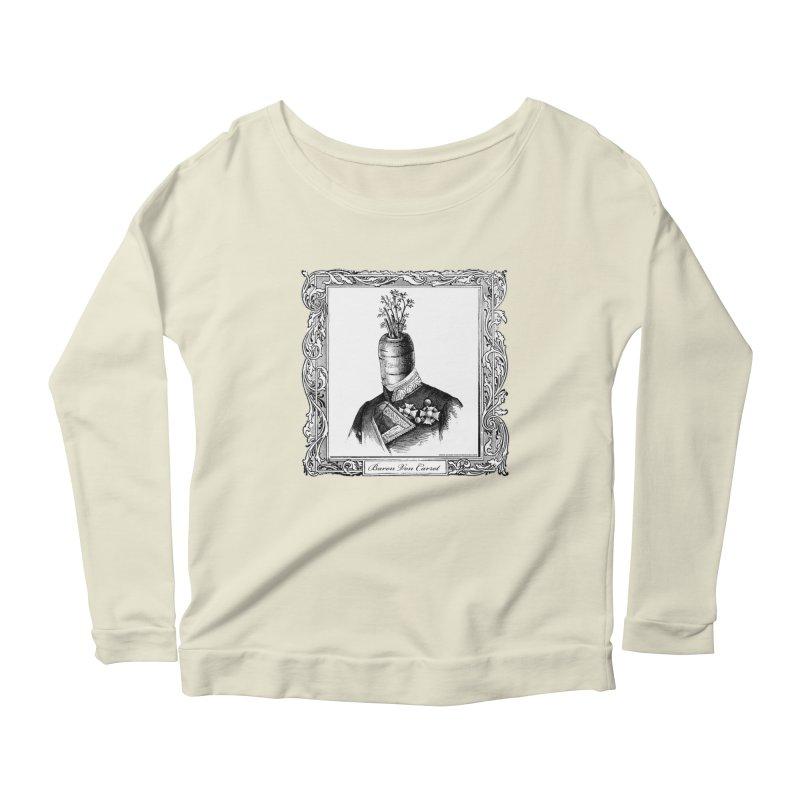 Baron Von Carrot Women's Scoop Neck Longsleeve T-Shirt by sundaydrivedesigns's Artist Shop