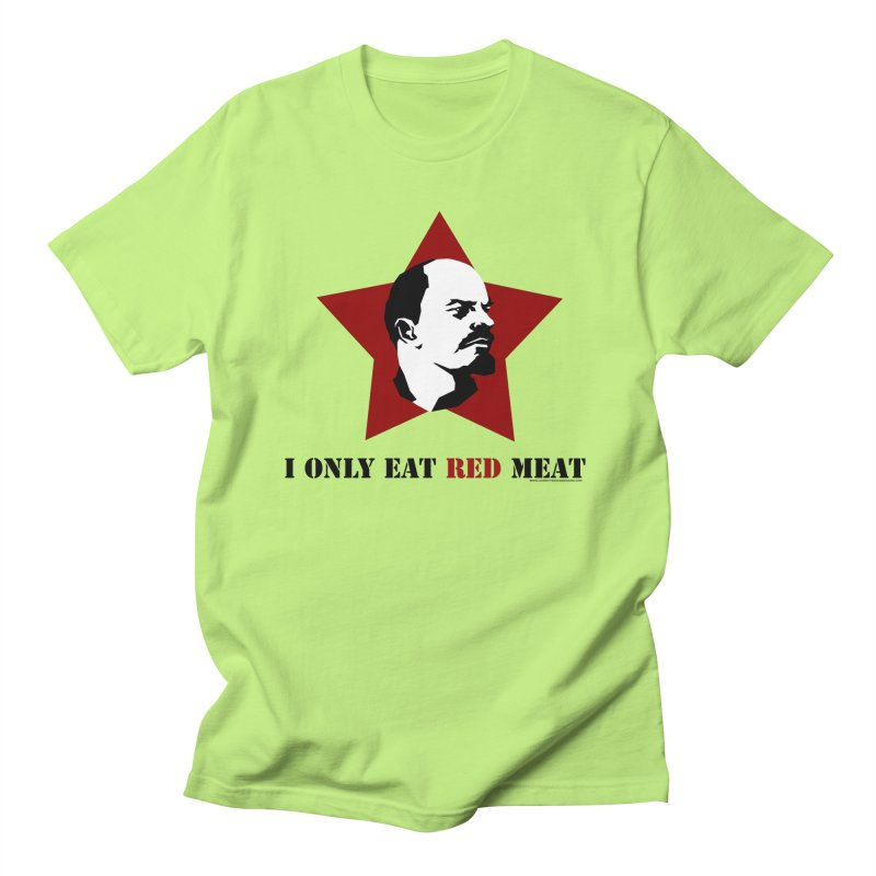 I Only Eat Red Meat Men's Regular T-Shirt by sundaydrivedesigns's Artist Shop