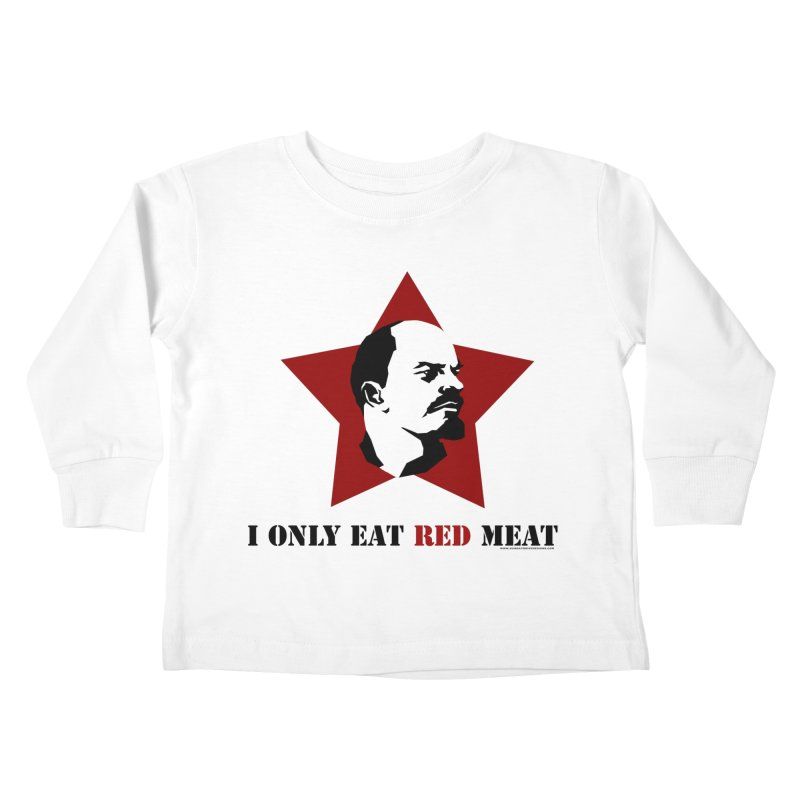 I Only Eat Red Meat Kids  by sundaydrivedesigns's Artist Shop