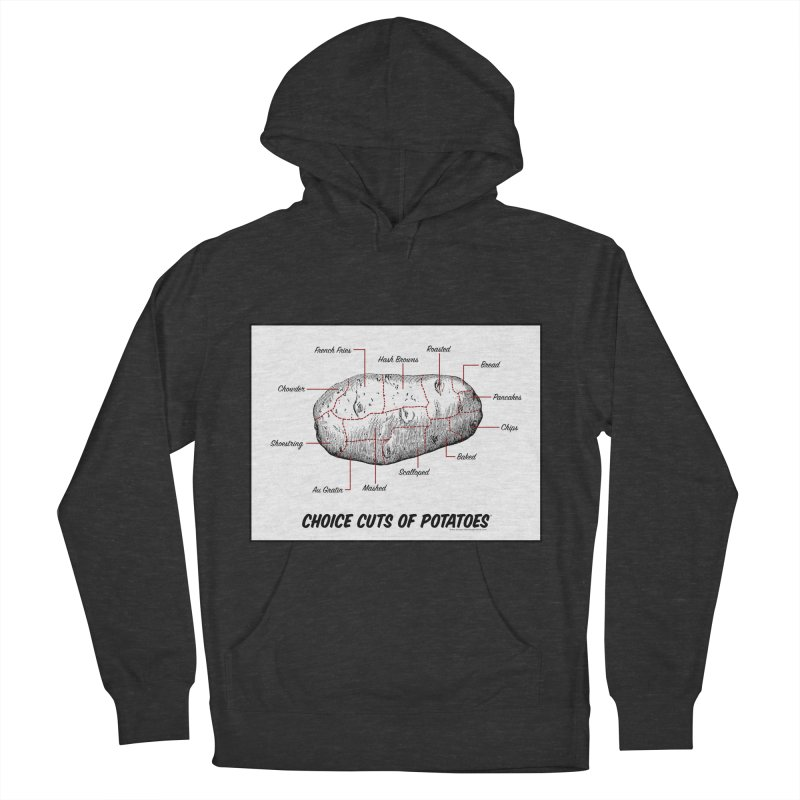 Choice Cuts of Potato Butcher Chart Men's Pullover Hoody by sundaydrivedesigns's Artist Shop