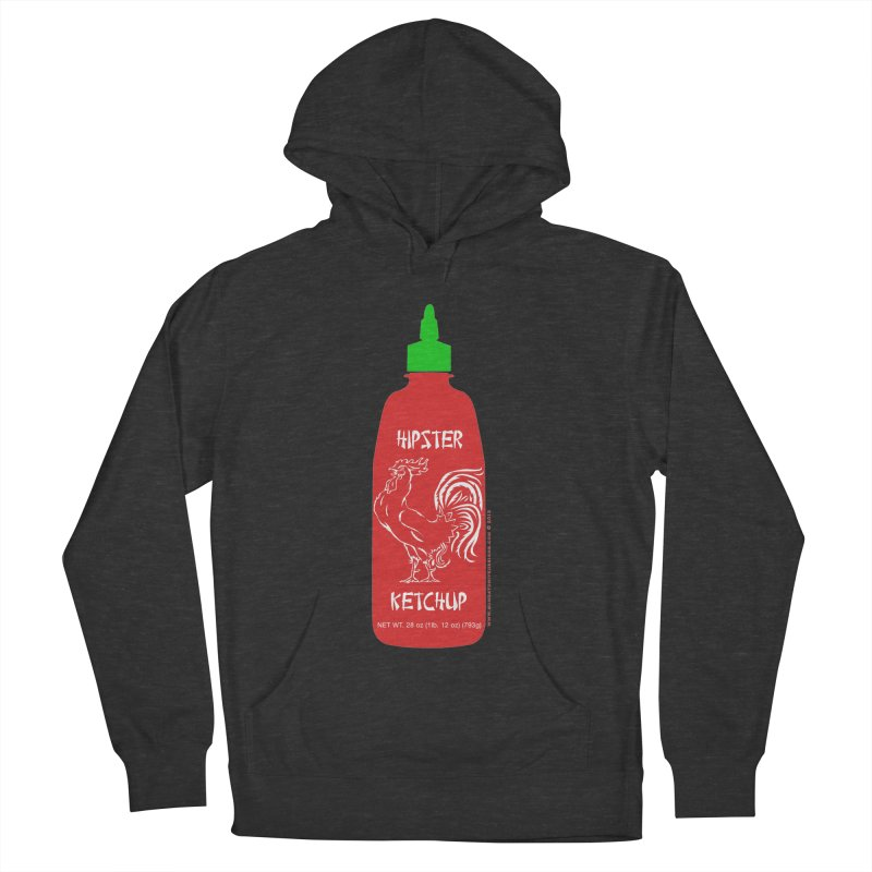 Hipster Ketchup Men's Pullover Hoody by sundaydrivedesigns's Artist Shop